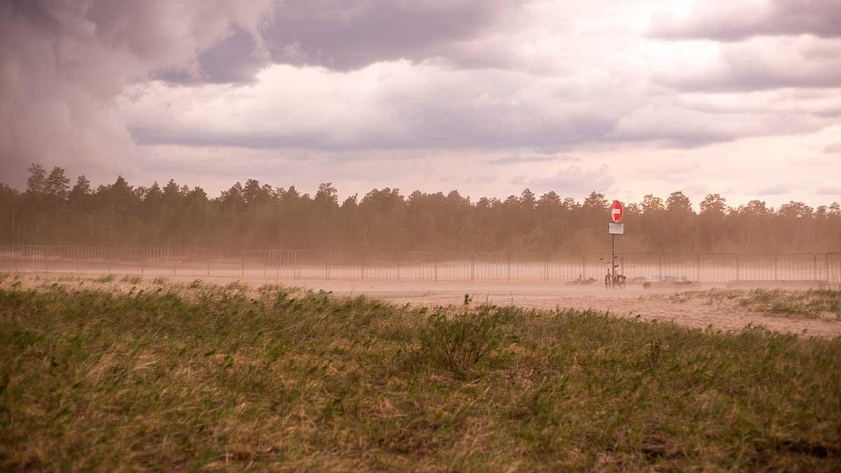 пылевая буря в России