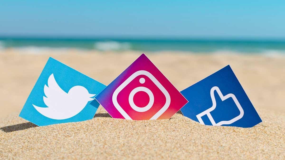 разные социальные сети twitter instagram