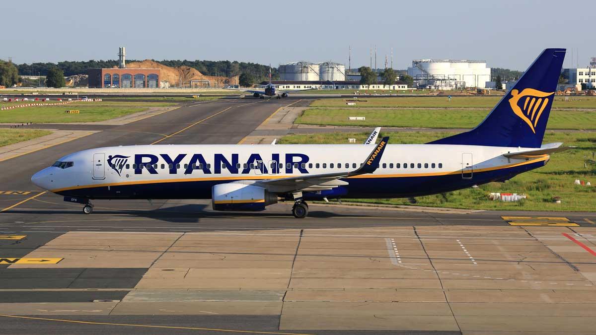 рейс Ryanair в Берлине
