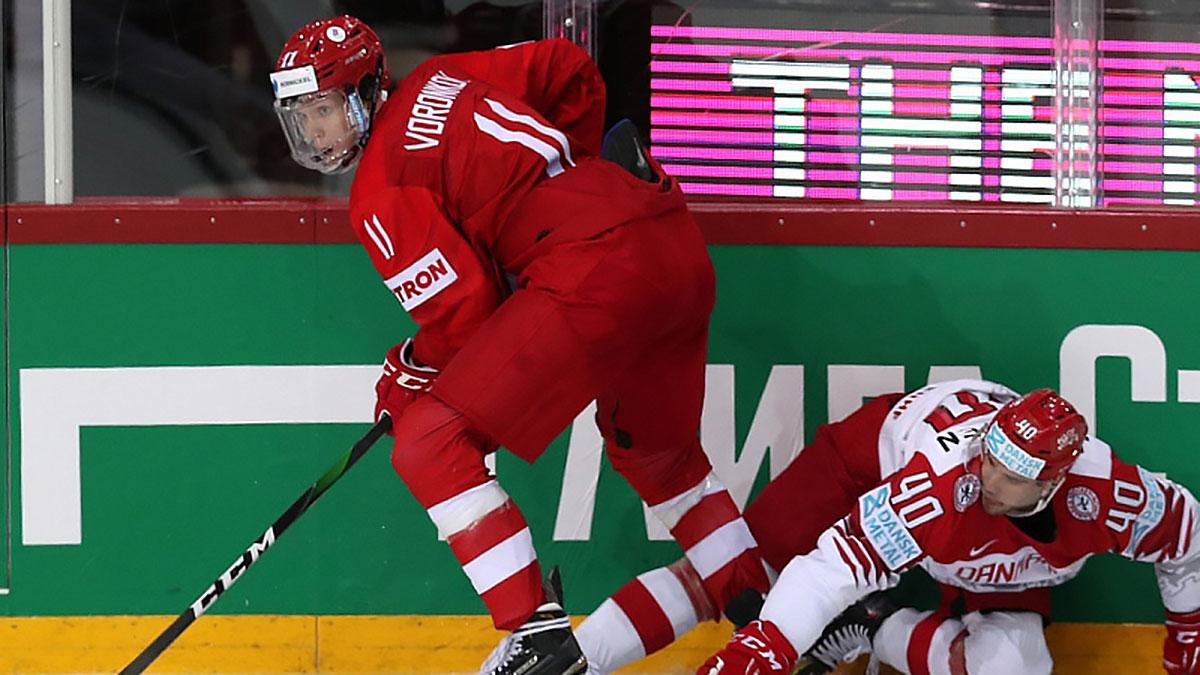 сборная россии по хоккею матч с данией