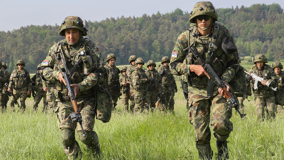 сербские военные