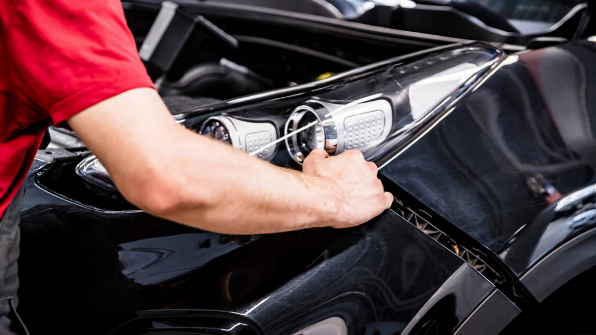 Автомастерская замена бампера автомобиль тюнинг