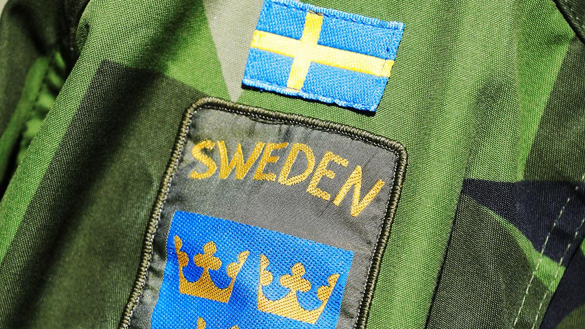 нашивка шведской армии