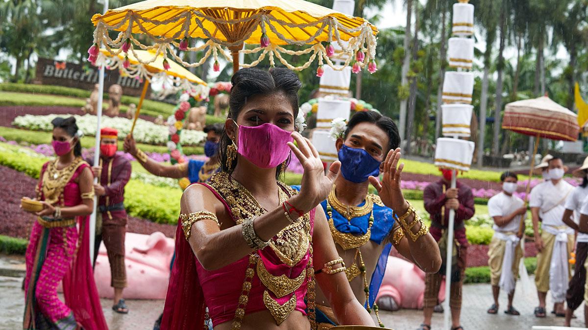 Паттайя тайланд карнавал