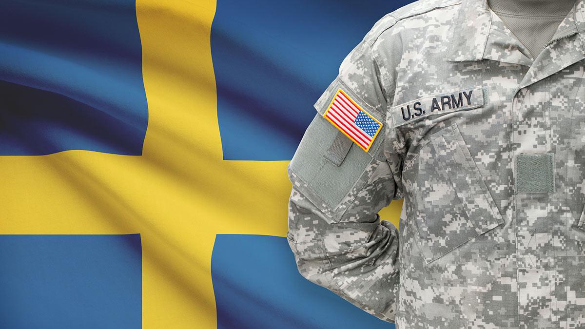 флаг шведский военный сша
