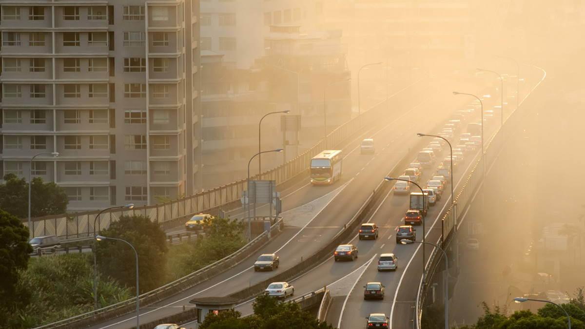Загрязнение воздуха смог