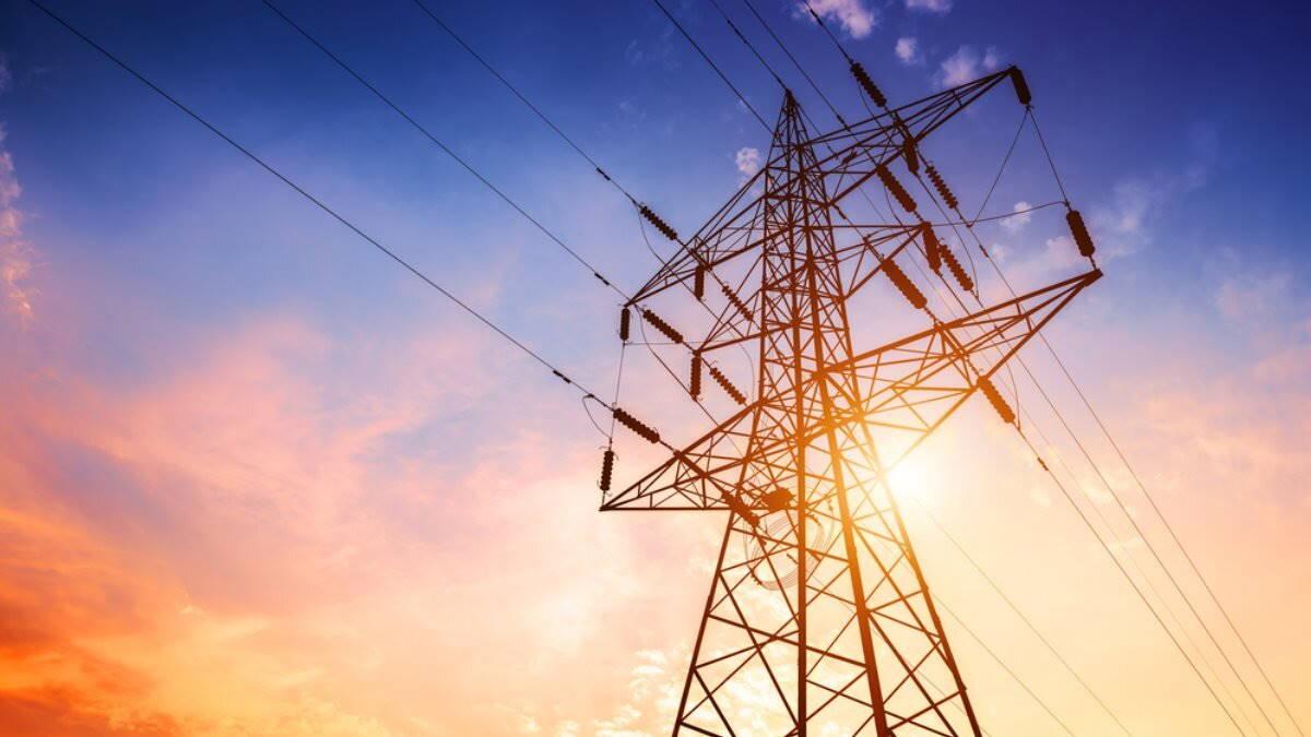ЛЭП провода высоковольтная линия