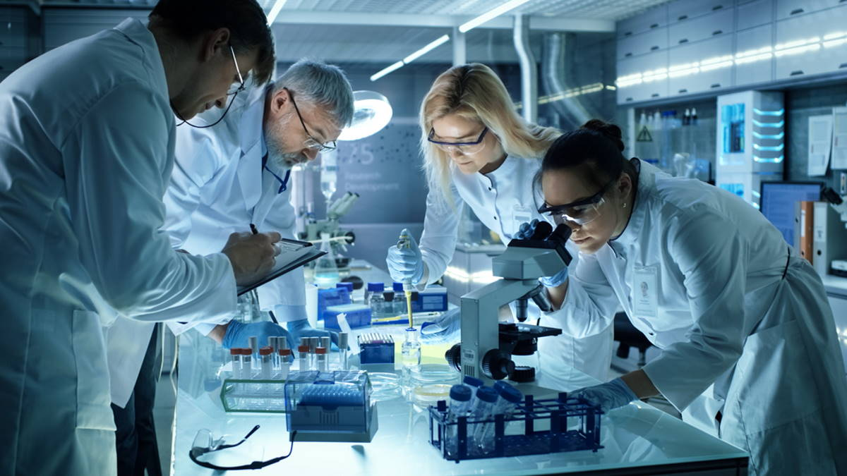 Лаборатория наука учёные