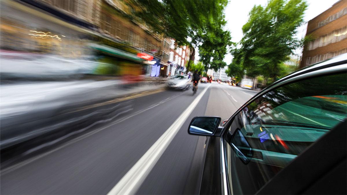скорость движение автомобиль город дорога