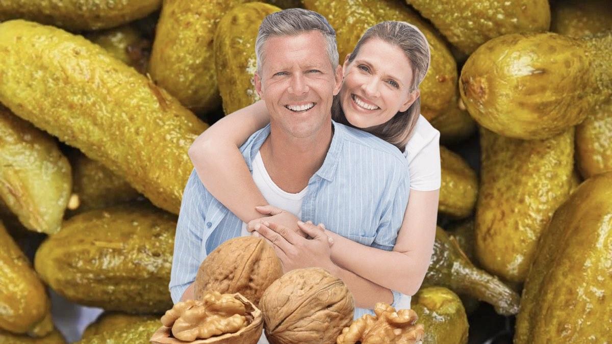 соленые огурцы орехи и здоровье