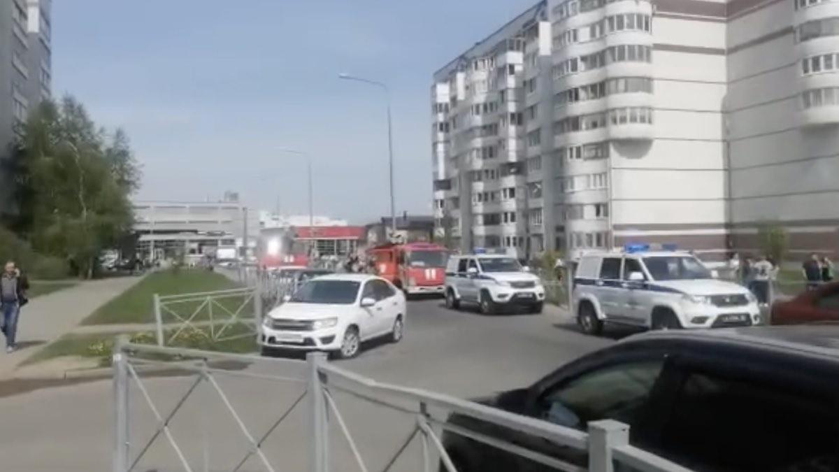 стрельба в школе Казань
