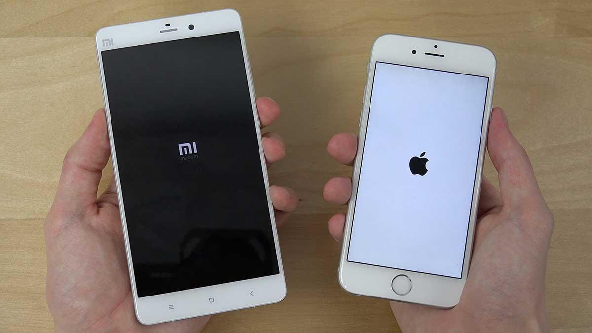 телефоны Xiaomi Apple