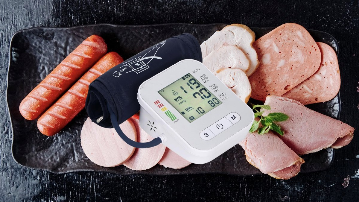 кровяное давление и мясо