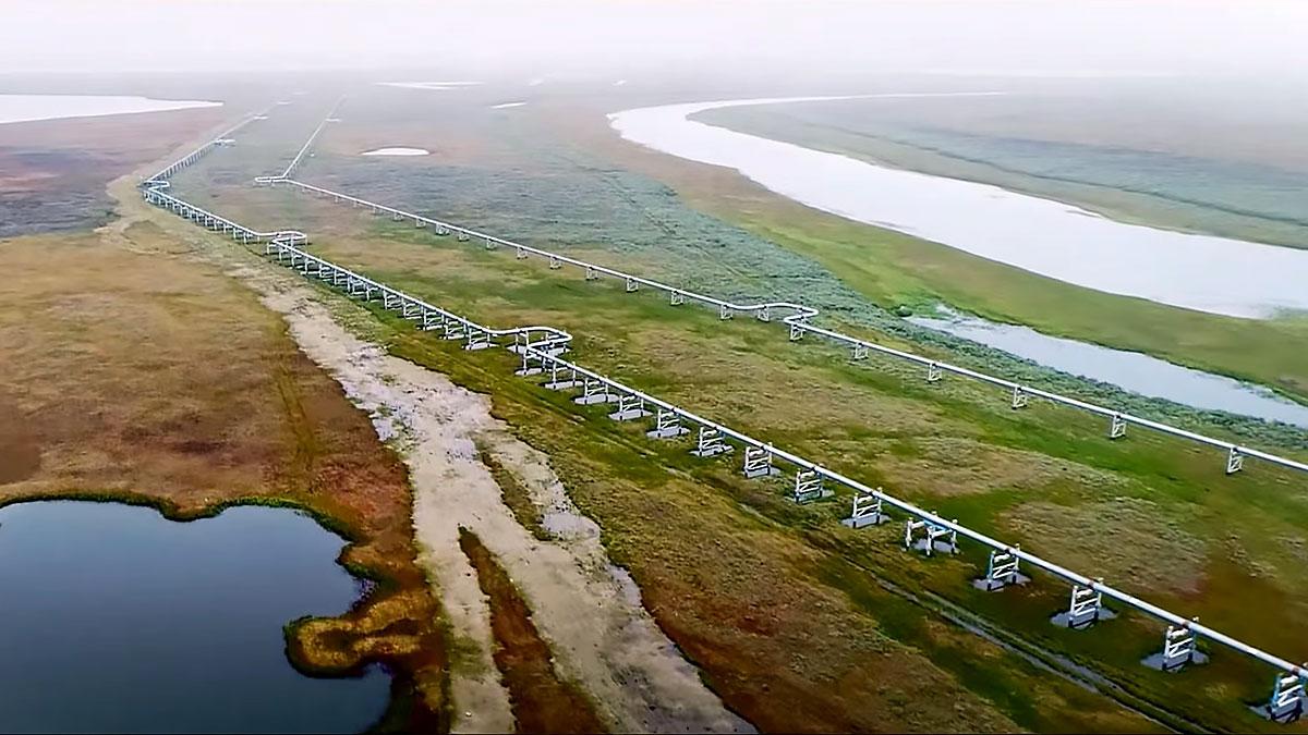 трубопровод газа по суше северный поток 2