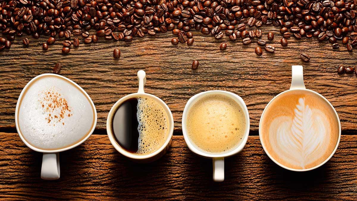 разные сорта кофе