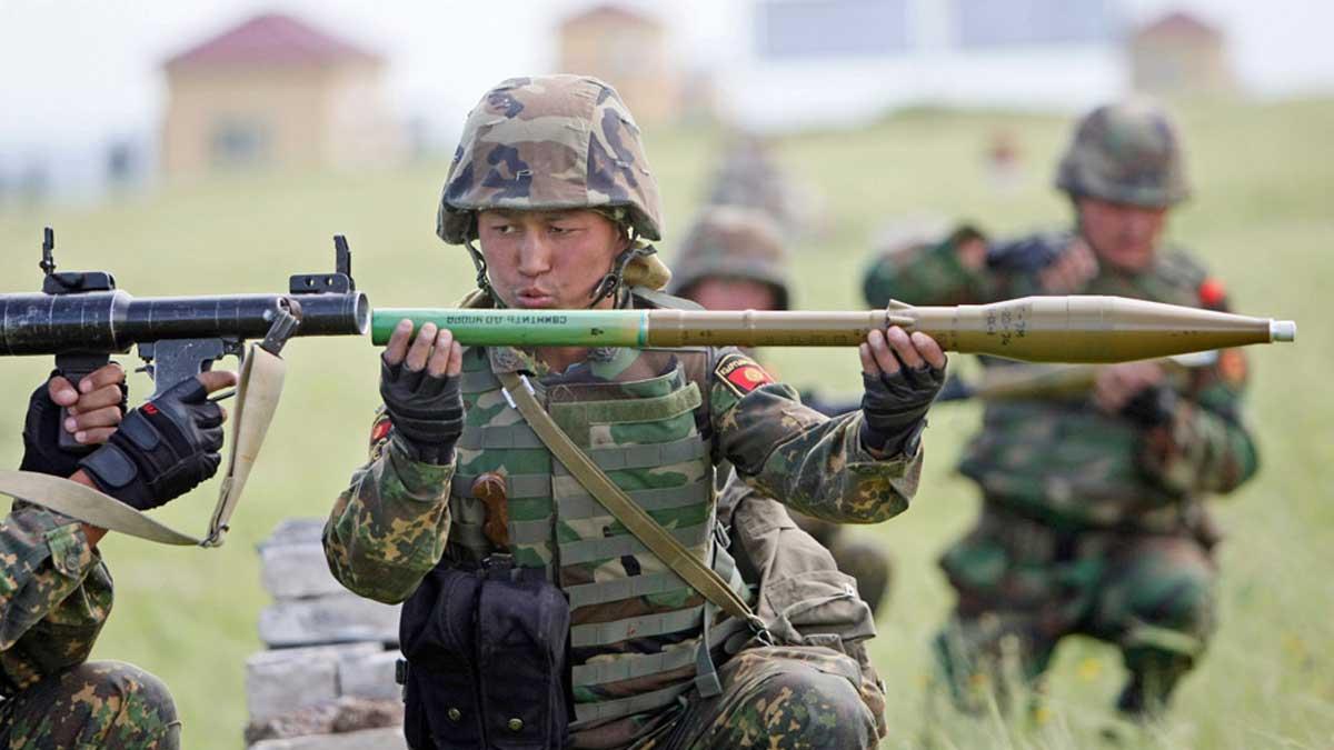 военная армия Кыргызстан