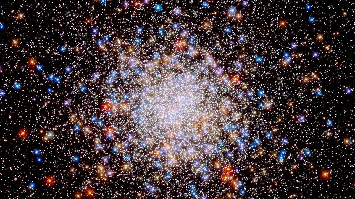 взрыв звезды заснятый телескопом хаббл