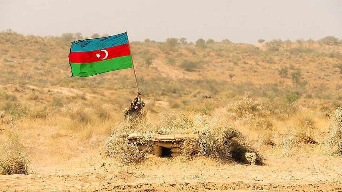 мужчина флаг Азербайджан