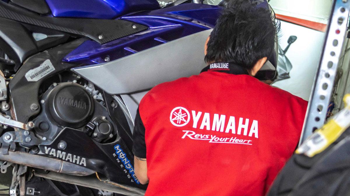 yamaha ямаха текник инженер мотоцикл