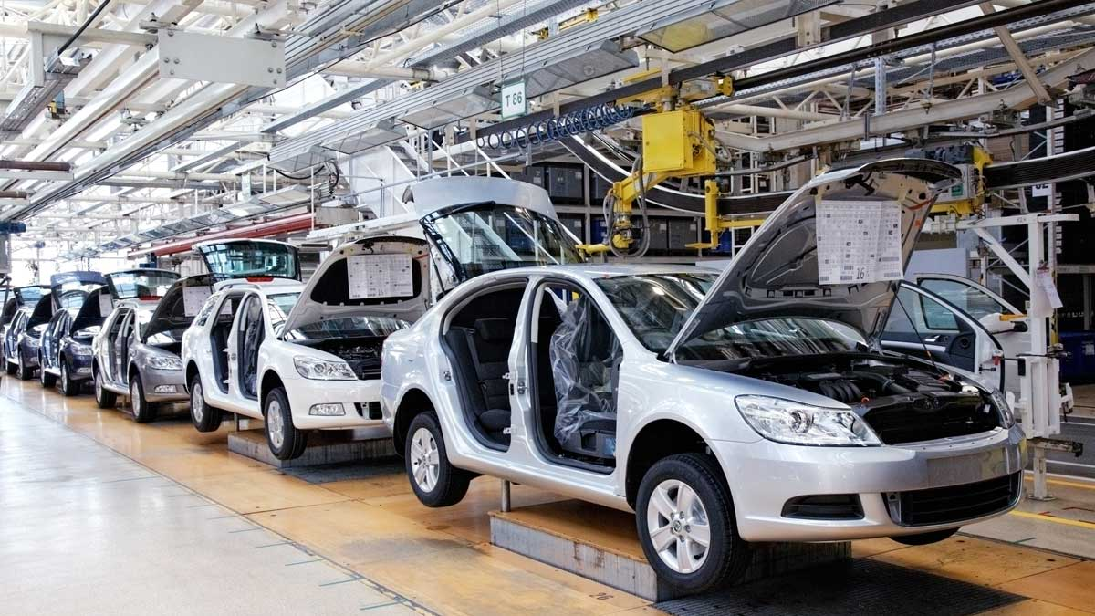 завод производство автомобилей