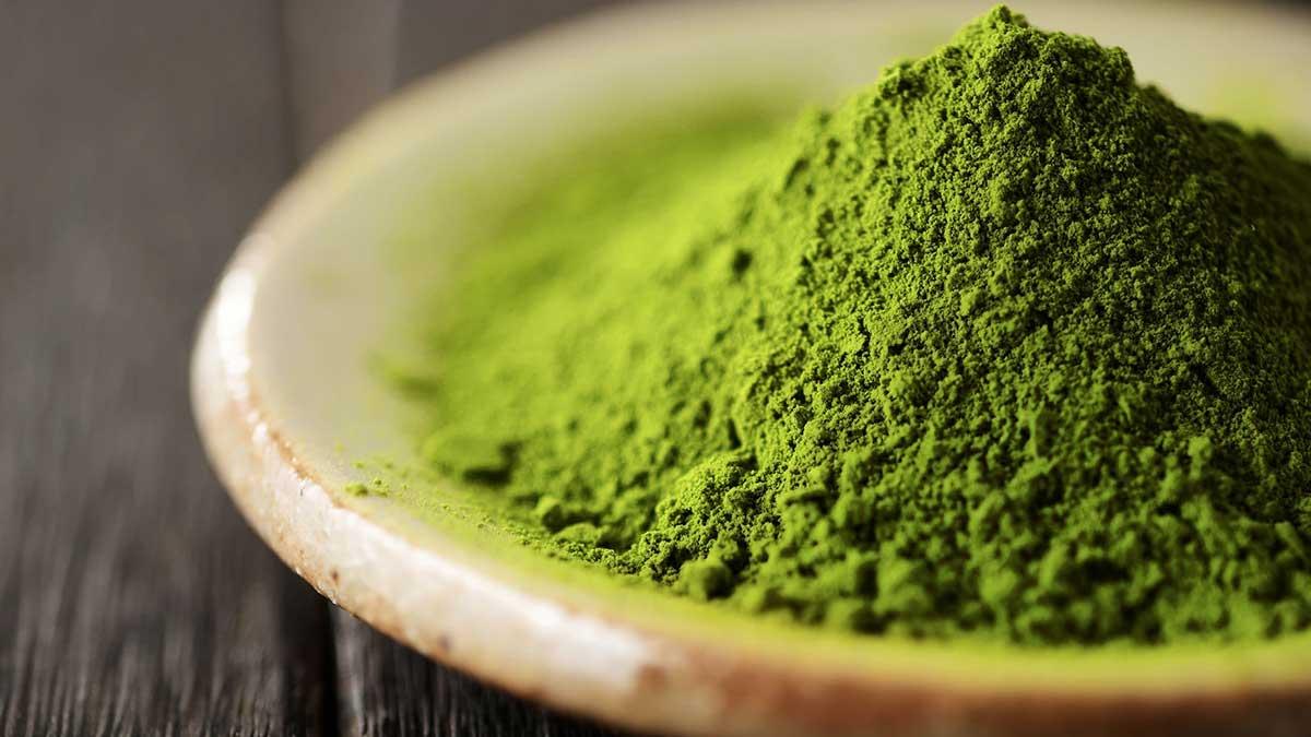 зеленый чай maccha