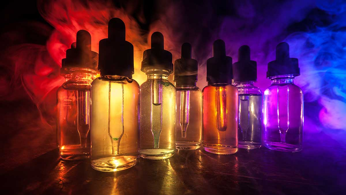 жидкости для электронных сигарет дым