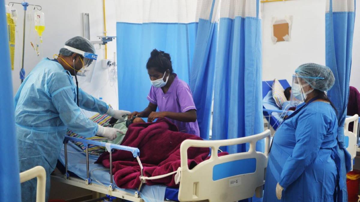 Индия коронавирус врачи пациент
