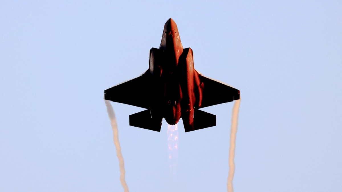 Израильский истребитель-бомбардировщик F-35 Lightning II