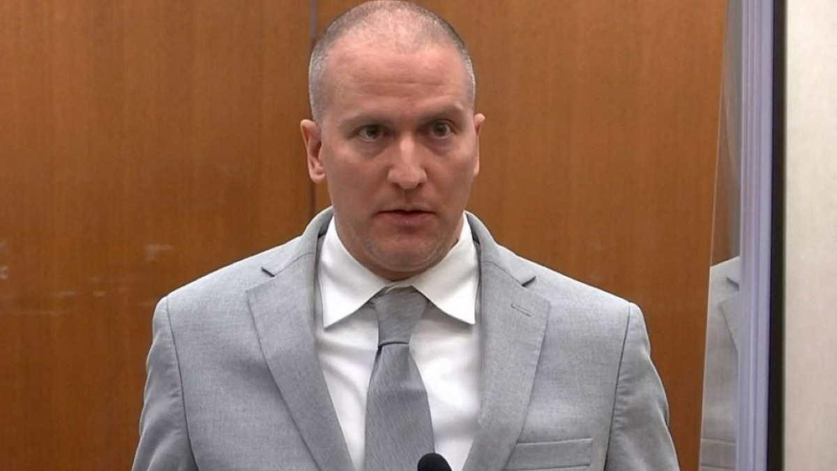 Экс-полицейский Дерек Шовин