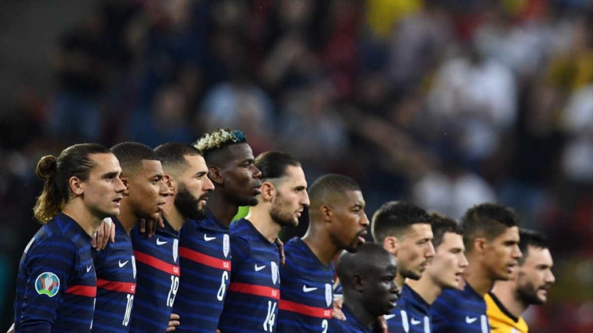 Футболисты сборной Франции по футболу