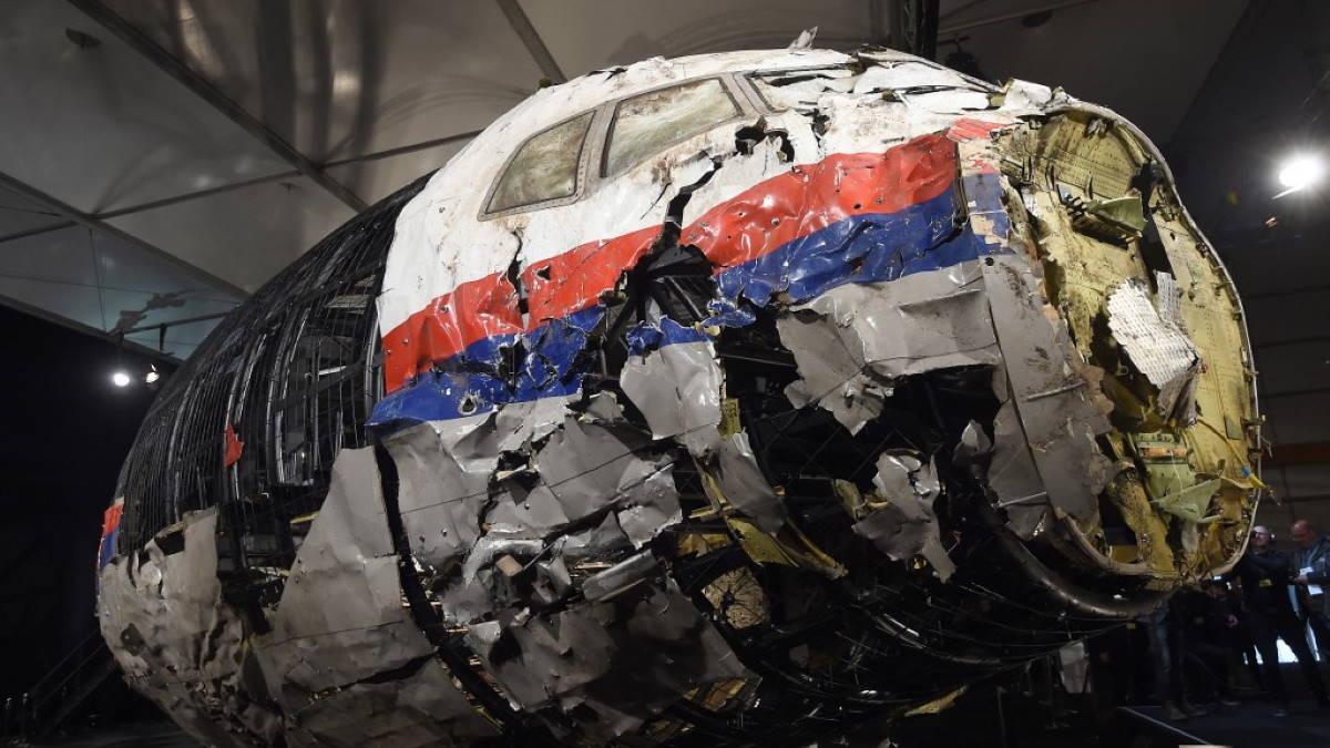 реконструкция кабины сбитого MH17