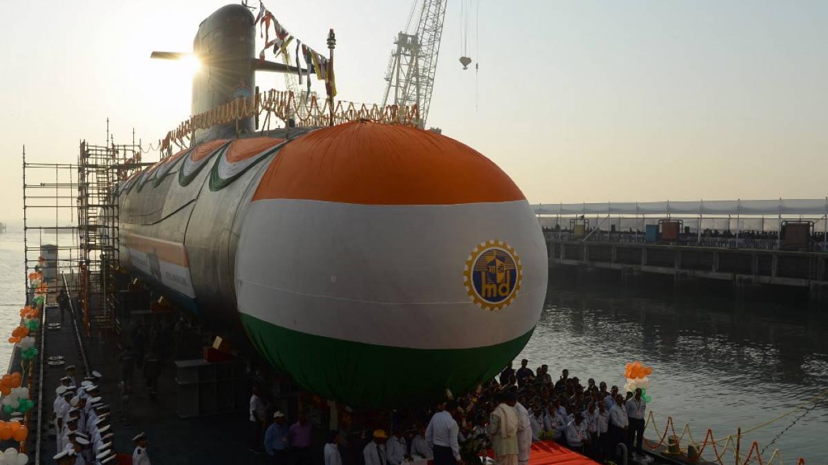 Индийская подводная лодка класса Scorpene Karanj