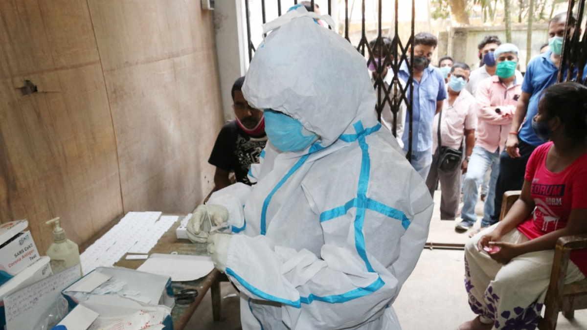 Индия коронавирус доктор