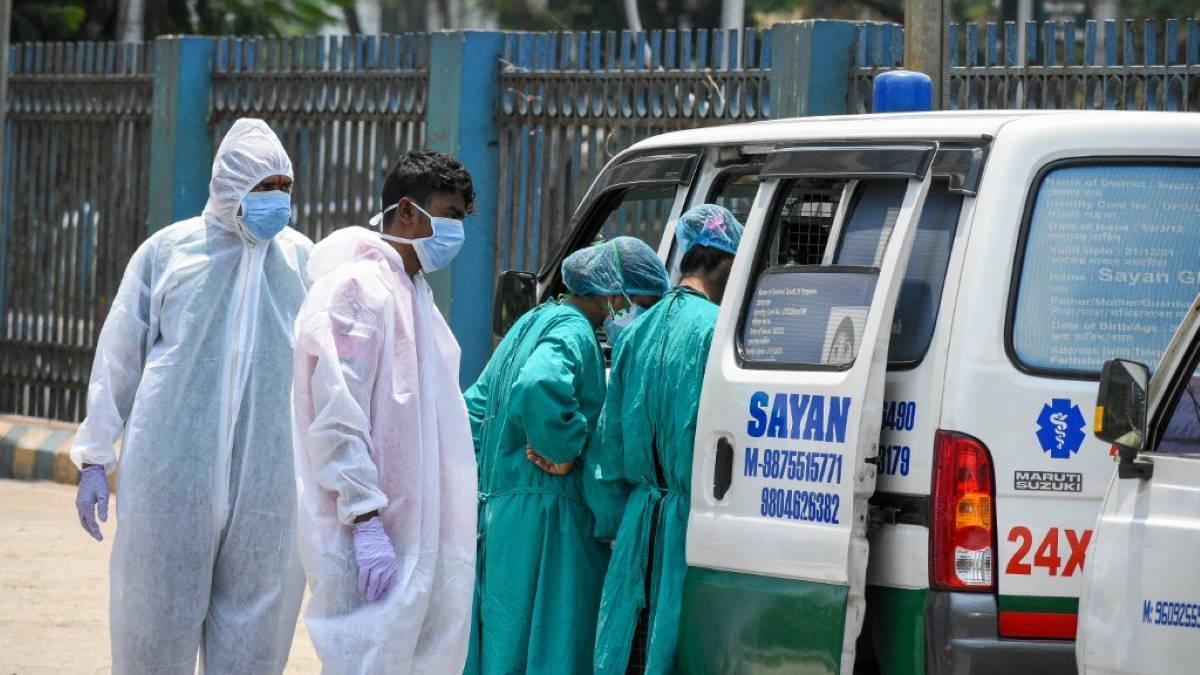 Индия коронавирус скорая помощь