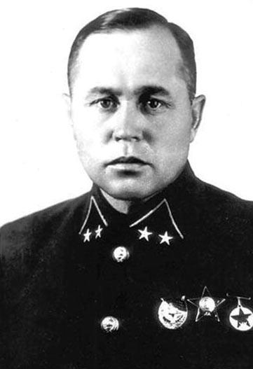 Герой обороны Либавы, командир 67-й стрелковой дивизии генерал Николай Алексеевич Дедаев