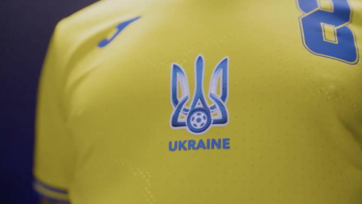Украина форма футбол УЕФА