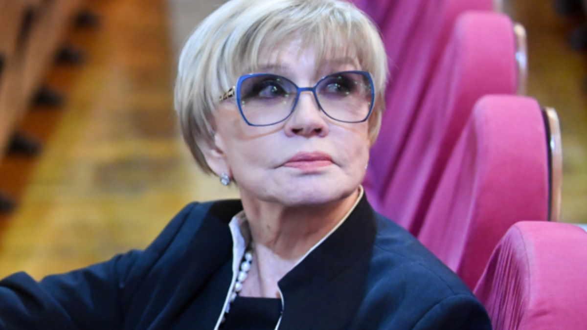 Актриса Вера Алентова