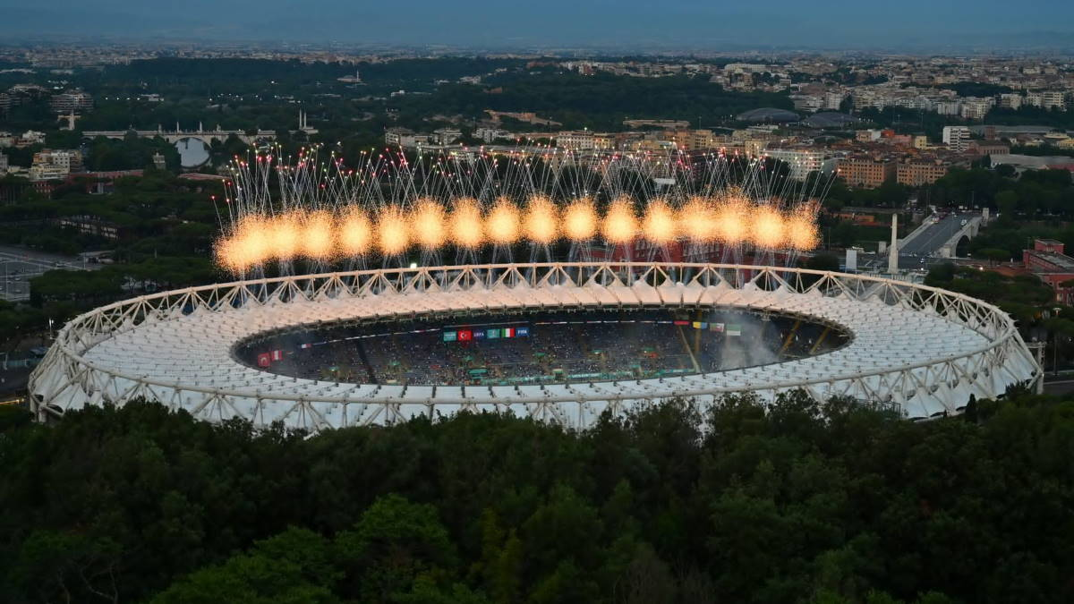Открытие чемпионата Европы по футболу UEFA EURO 2020