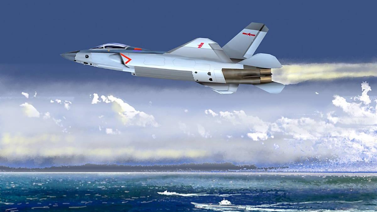 китайский палубный истребитель FC-31