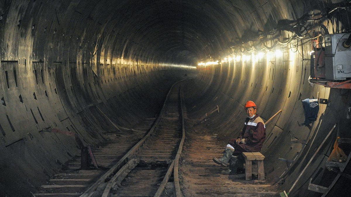 строительство метрополитена метрострой тоннель