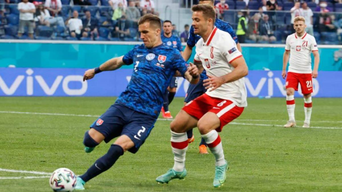 Польша - Словакия футбол
