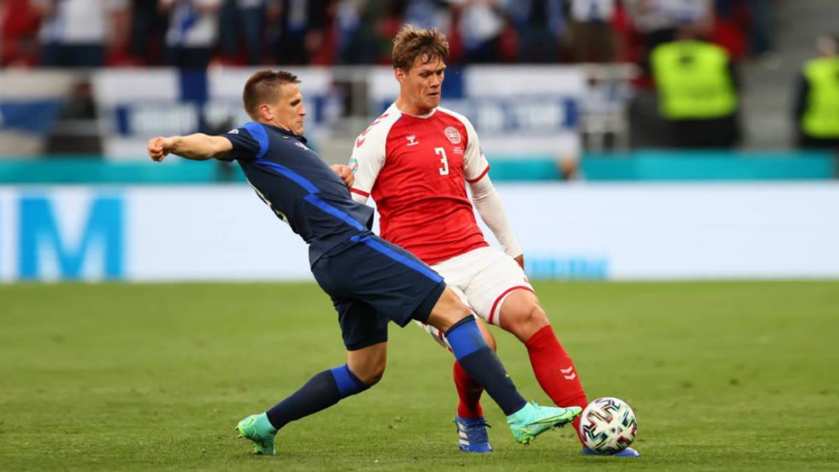 Дания - Финляндия футбол