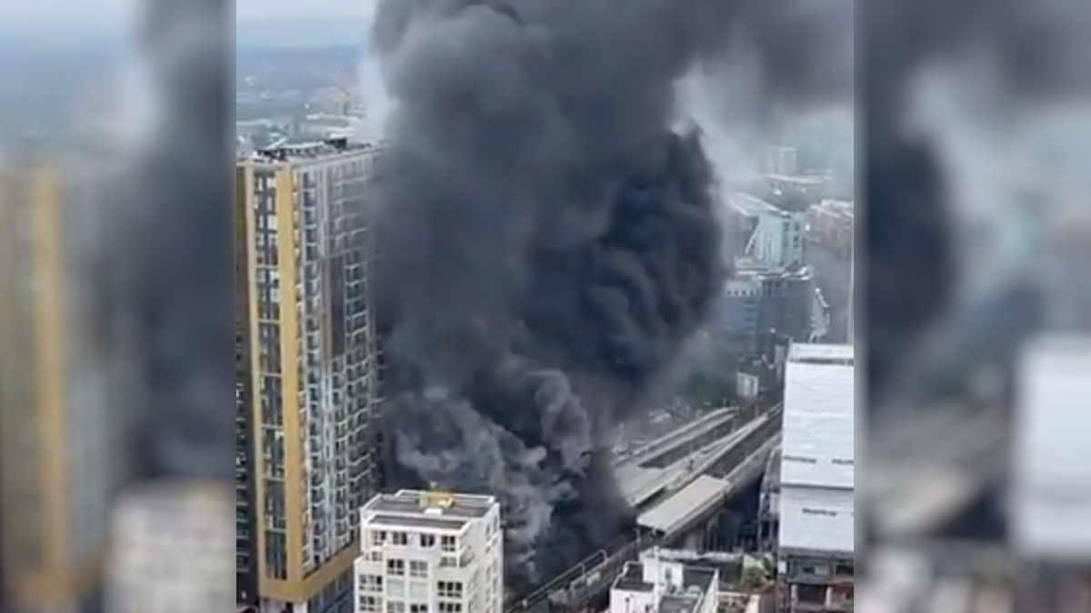 Взрыв в центре Лондона