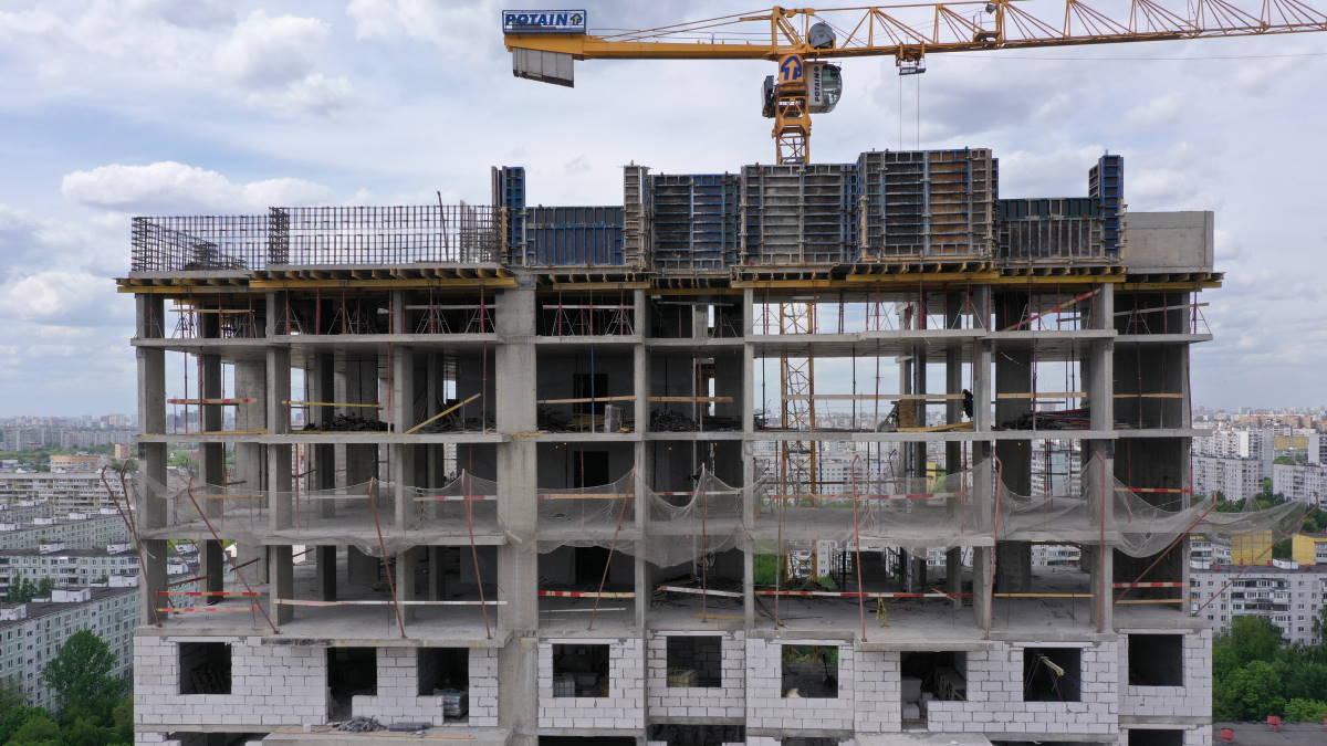 Строительство многоэтажного многоквартирного дома реновация