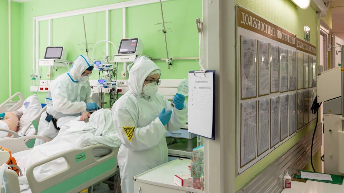 Коронавирус Больница палата врачи
