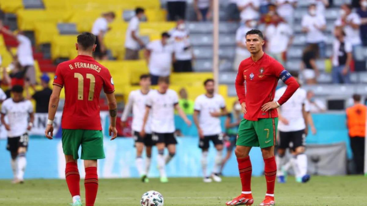 Португалия - Германия футбол