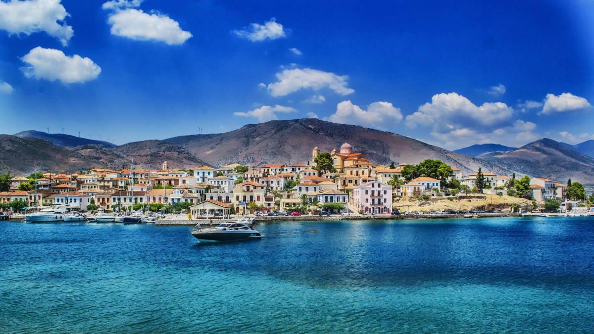 Город Галаксиди Греция