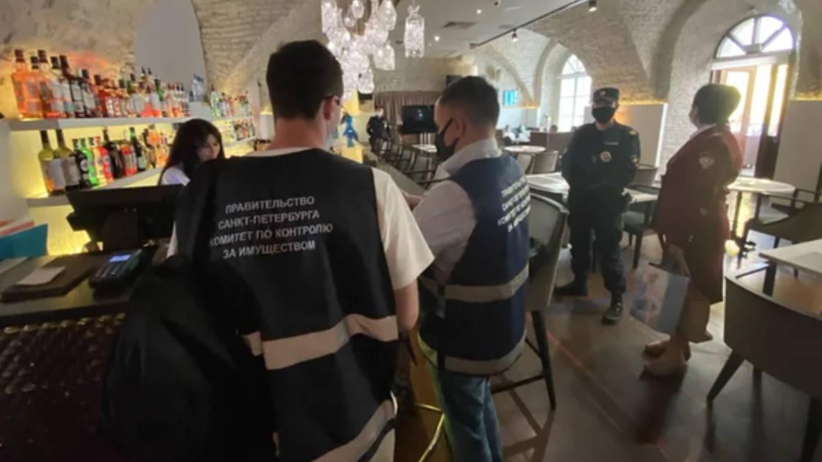 Санкт-Петербург проверка ресторанов и кафе