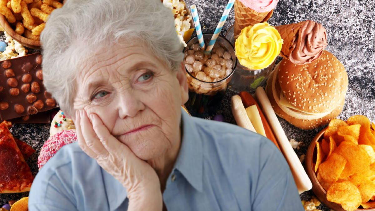 Болезнь Альцгеймера и фастфуд газировка