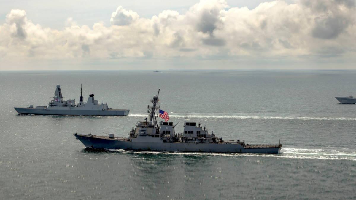 НАТО военные корабли